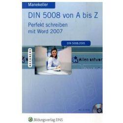 DIN 5008 von A bis Z, m. CD-ROM