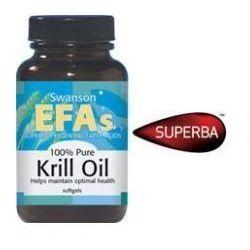 SWANSON Krill Oil (Olej z kryla) x 60 kapsułek