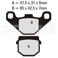 Klocki hamulcowe EBC (2 szt.) FA083HH 4101275 E-Ton EXL 150, Suzuki RM 80