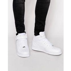 buty nike air force 1 mid białe