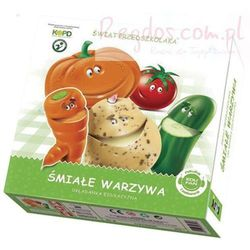 Gra Śmiałe warzywa - układanka edukacyjna