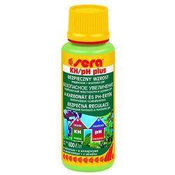 SERA KH/pH Plus - preparat podnoszący twardość węglanową oraz pH w akwarium 100ml