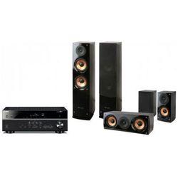 Kino domowe YAMAHA RX-V481 + Pure Acoustics NOVA 6 Czarny