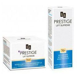 SET AA Prestige Lift Supreme 70+ (W) modelujący krem na dzień SPF15 50ml + intensywnie wygładzający krem pod oczy 15ml