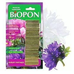 BIOPON pałeczki nawozowe do roślin kwitnących30szt