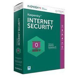 Kaspersky Internet Security 2016 multi-device 3 urządzenia na 1 rok elektroniczna