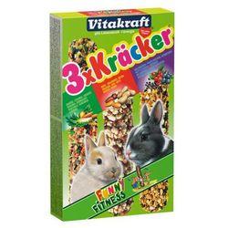 VITAKRAFT Kracker Mix - kolba warzywa orzech owoce dla królika 3szt.