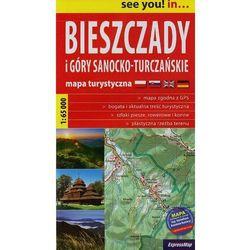 Bieszczady I Góry Sanocko-Turczańskie Mapa Turystyczna