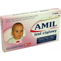 Test ciążowy AMIL płytkowy 1 szt.
