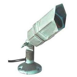 Zewnętrzna LAMPA stojąca GZ/BRONZE4 Elstead reflektorowa OPRAWA SŁUPEK LED 3W IP44 outdoor zieleń miedziana