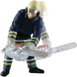 Ruchomy strażak z piłąłańcuchową, skala H0