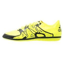 adidas Performance X 15.3 IN Halówki solar yellow/core black