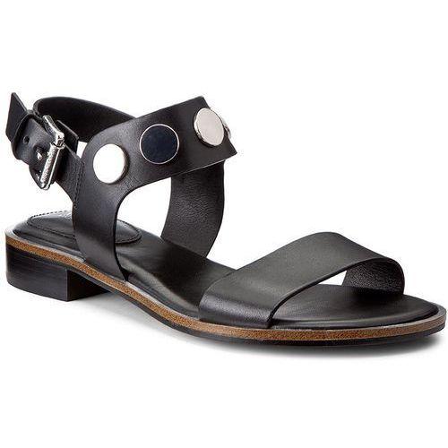 2648f22a067 Sandały MICHAEL KORS - Reggie Flat Sandal 40S7REMA5L Black ...