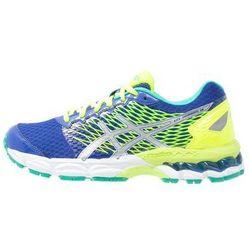 ASICS GELNIMBUS 18 Obuwie do biegania treningowe blue/silver/flash yellow