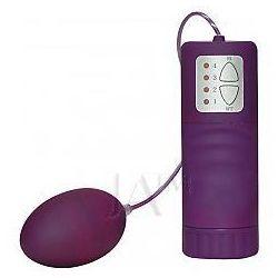 Velvet Pill Purple Wibrujące jajko z cyberskóry fioletowe