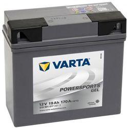 Akumulator motocyklowy Varta Powersports Gel BMW Zapisz się do naszego Newslettera i odbierz voucher 20 PLN na zakupy w VidaXL!