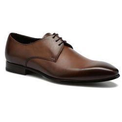 Buty sznurowane Doucal's NICO 2 Męskie Brązowe 100 dni na zwrot lub wymianę