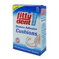Fittydent-przekładki mocujące dolną protezę zębową (15szt.)