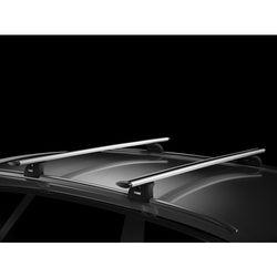 Bagażnik do BMW X1 5d (F48) od 2016- dachowy Thule Wingbar 969, stopy 753, kit 4023
