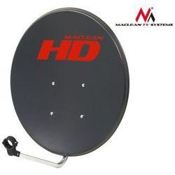 Maclean Antena satelitarna 80cm MCTV-780 ocynk grafit DARMOWA DOSTAWA DO 400 SALONÓW !!