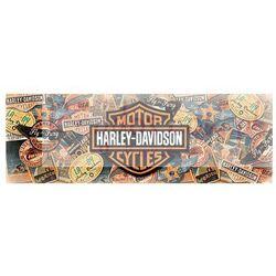 Harley Davidson Podróż - plakat
