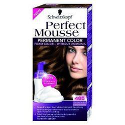 SCHWARZKOPF Perfect Mousse farba do wlosow bez amoniaku 465 Chocolate Brown