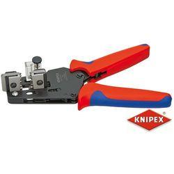 KNIPEX Precyzyjne szczypce do ściągania izolacji z nożami kształtowymi, dwukomponentowe (12 12 11)