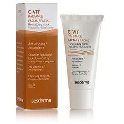 SesDerma - C-Vit Radiance Revitalizing Facial Mask - Rewitalizująca maseczka do twarzy - 30 ml - DOSTAWA GRATIS! Kupując ten produkt otrzymujesz darmową dostawę !
