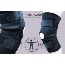 STABILIZATOR - ŚCIĄGACZ na kolano UCISKOWY opaska KOLANA neopren