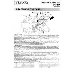 SHAD SHA0R57T Stelaż kufra centralnego mały Aprilia Rally 50 LC