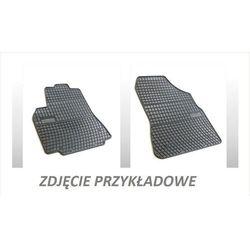 Dywaniki gumowe czarne z kompletem stoperów - Renault Kangoo (I) 1998-2008, 2 siedzenia