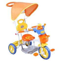 Rowerek trójkołowy pomarańczowy