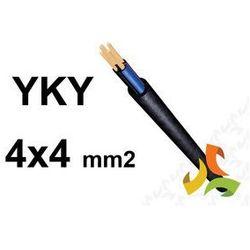 KABEL YKY 4x4mm2 0,6/1kV PRZEWÓD ZIEMNY MIEDZIANY