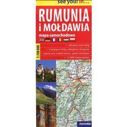 ExpressMap Rumunia i Mołdawia 1:700 000 see you! in