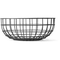 Misa druciana Menu Wire Bowl black