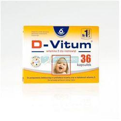 D-VITUM witamina D dla niemowląt 36 kapsułek