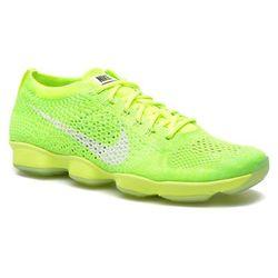 Buty sportowe Nike Wmns Nike Flyknit Zoom Agility Damskie Zielone 100 dni na zwrot lub wymianę