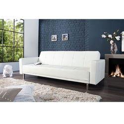 Sofa rozkładana Monako 215cm - biały - wzór 1