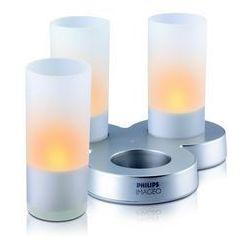 Philips Massive 69108/60/PH - LED SADA 3x Lampa stołowa CANDLELIGHT 3xLED/8W