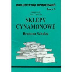 Sklepy cynamonowe Zeszyt 13 (opr. miękka)