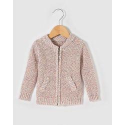 Sweter rozpinany z cieniowanej włóczki 1 m-c - 3 latka