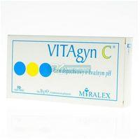 VITAgyn C Krem dopochw.o kwaśnym pH 30 g