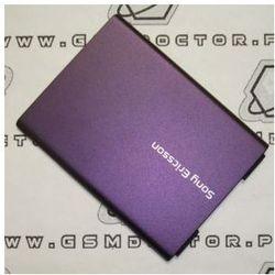 Obudowa Sony Ericsson W380i tylna pokrywa baterii fioletowa