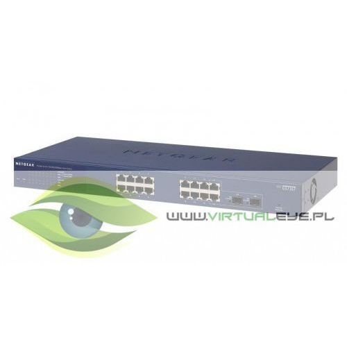 Netgear Switch Smart 16xGE 2xSFP - GS716T