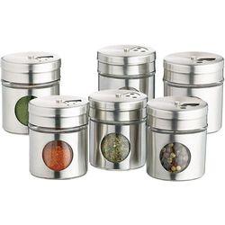 Pojemniki na przyprawy Kitchen Craft 6 sztuk