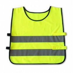 Kamizelka odblaskowa dla dzieci 5 - 7 lat 45x50cm - Żółty