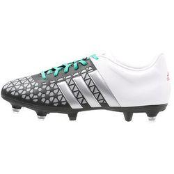 adidas Performance ACE 15.3 SG Korki wkręty core black/matte silver/white