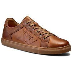 Sneakersy WOJAS - 6016-53 Brąz