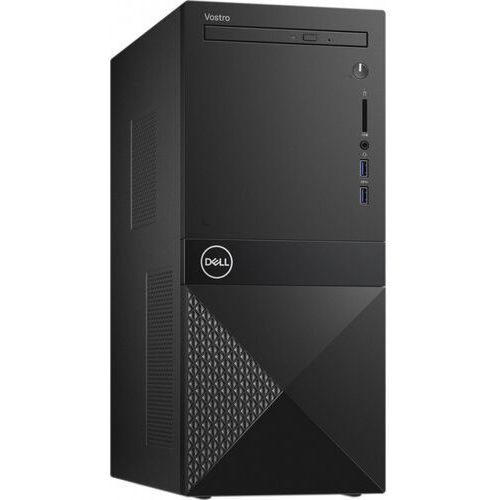 Dell Desktop Vostro 3681 i3-10100/8GB/256GB SSD/UHD 630/DVD RW/WLAN + BT/Kb/Mouse/Win10Pro 3Y BOS