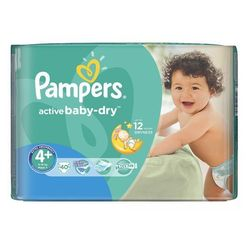 Pampers Active Baby VPMinus Maxi+